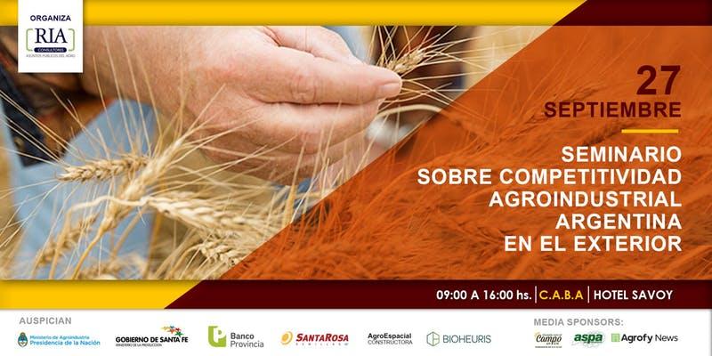 Competitividad Agroindustrial Argentina en el Exterior