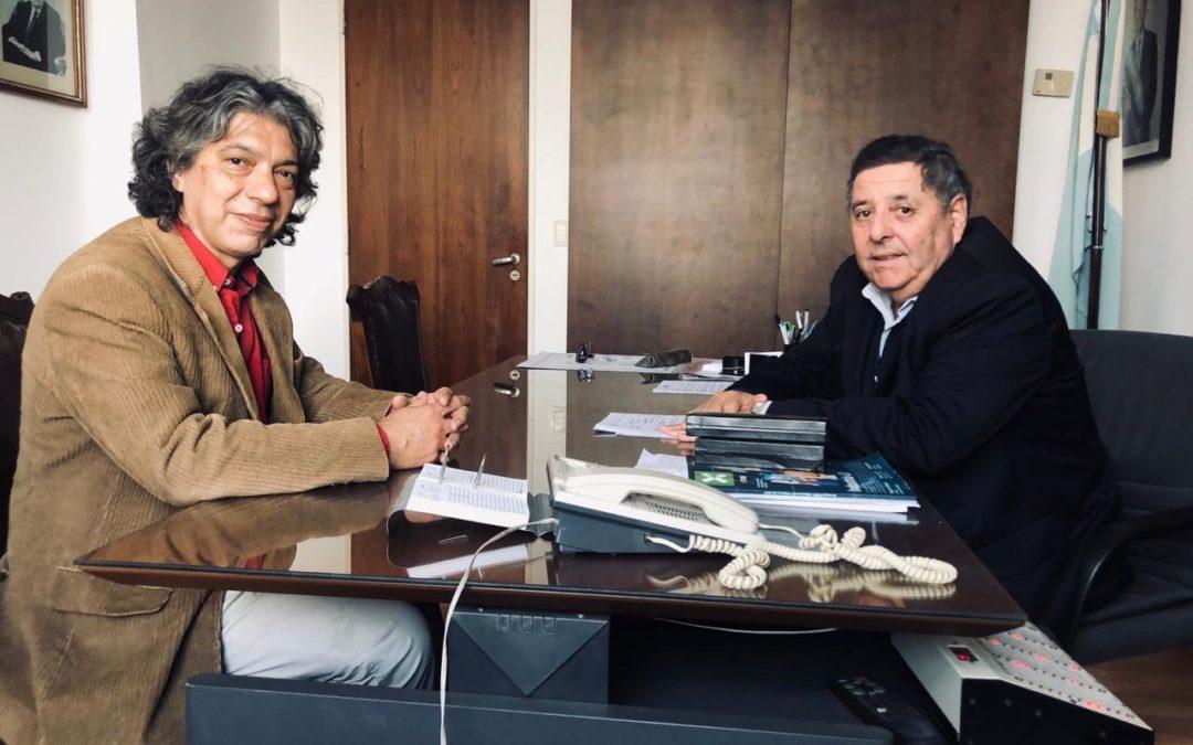 Encuentro con el Senador Alfredo De Angeli