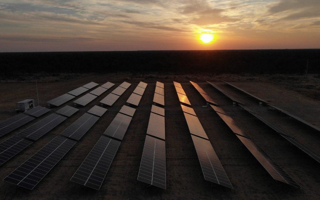 En San Luis ya funciona una planta de energía solar para el agro