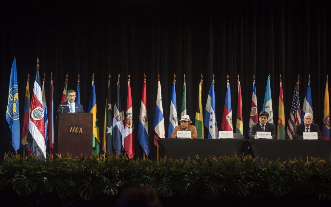 Ministros de Agricultura de las Américas sesionan en Costa Rica