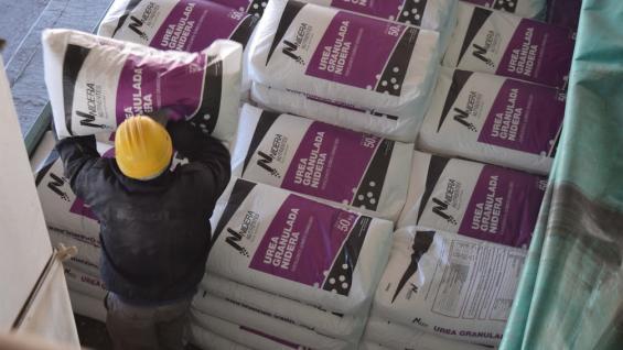 Fuerte incremento en las importaciones de fertilizantes nitrogenados