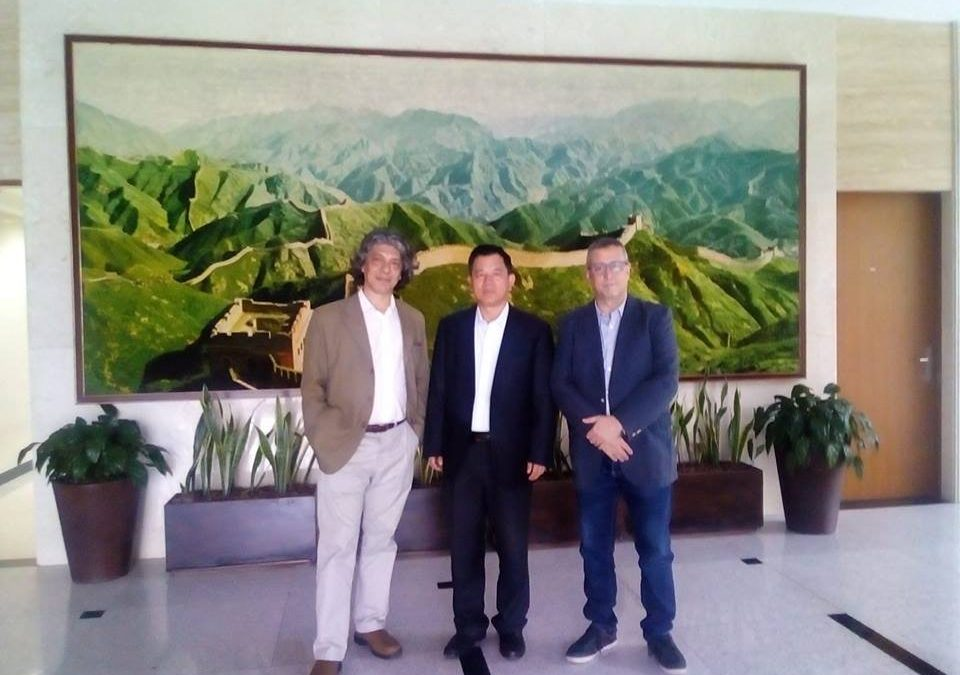 Reunión con el agregado agrícola de la Embajada China en la Argentina.