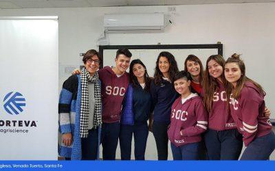 Corteva lleva a cabo la primera Feria Digital de Ciencias entre alumnos de EE.UU y Argentina